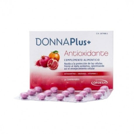 DONNA PLUS+ ANTIOXIDANTE 30 COMP