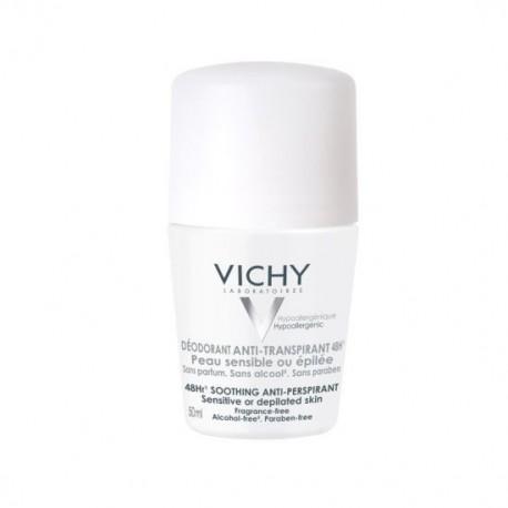 VICHY DESODORANTE BOLA PIEL SENSIBLE 1 ENVASE 50 ml