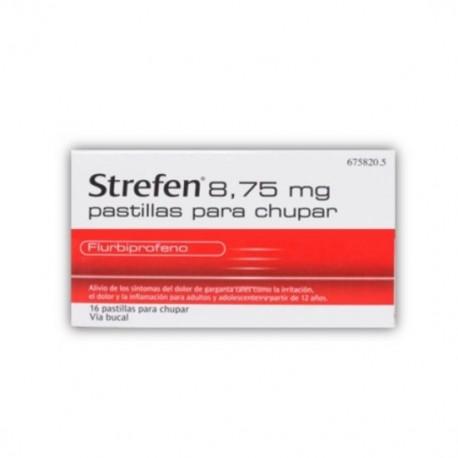 STREFEN 8.75 MG 16 PASTILLAS PARA CHUPAR MIEL Y LIMON