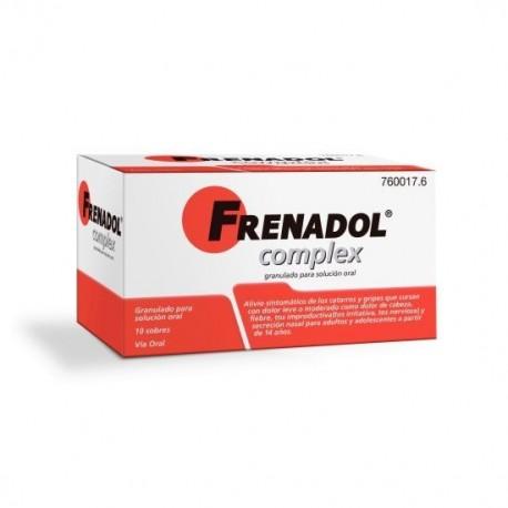 FRENADOL COMPLEX 10 SOBRES GRANULADO PARA SOLUCION ORAL