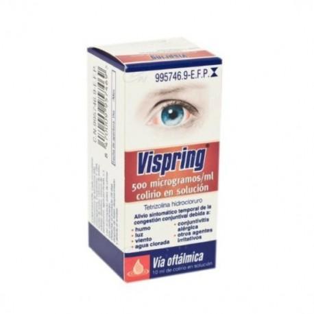 VISPRING 500 microgramos/ml COLIRIO EN SOLUCION 1 FRASCO 15 ml