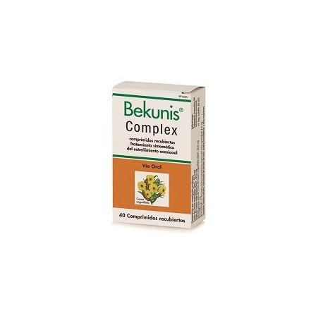 BEKUNIS COMPLEX 40 COMPRIMIDOS RECUBIERTOS