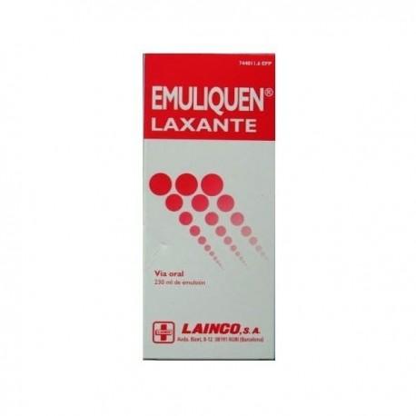 EMULIQUEN LAXANTE 478,26 mg/ml + 0,3 mg/ml EMULSION ORAL 1 FRASCO 230 ml