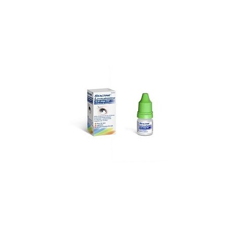 REACTINE LEVOCABASTINA 0,5 mg/ml COLIRIO EN SUSPENSION 1 FRASCO 4 ml