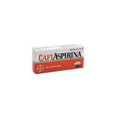 CAFIASPIRINA 500 mg/50 mg 20 COMPRIMIDOS