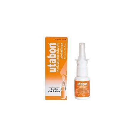 UTABON 0,5 mg/ml SOLUCION PARA PULVERIZACION NASAL 1 FRASCO 15 ml (CON BOMBA DOSIFICADORA)
