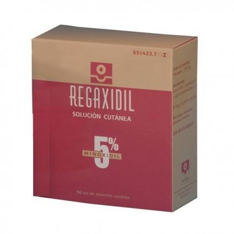 REGAXIDIL 50 MG/ML SOLUCION CUTANEA 1 FRASCO 60 ML