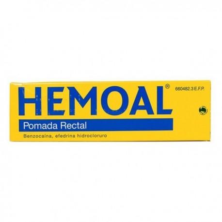 HEMOAL POMADA RECTAL 1 TUBO 50 g