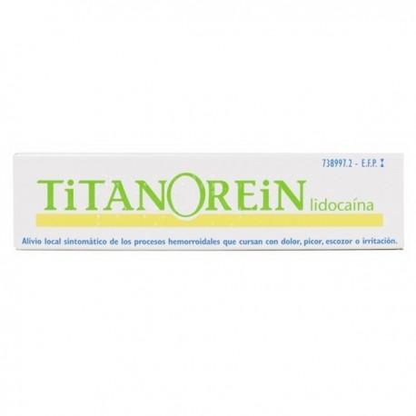 TITANOREIN LIDOCAINA CREMA RECTAL 1 TUBO 20 g