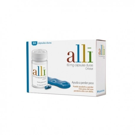 ALLI 60 mg 84 CAPSULAS
