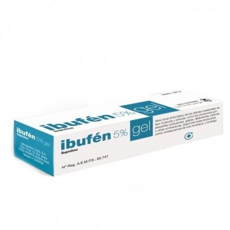CINFADOL IBUPROFENO 50 mg/g GEL CUTANEO 1 TUBO 50 g