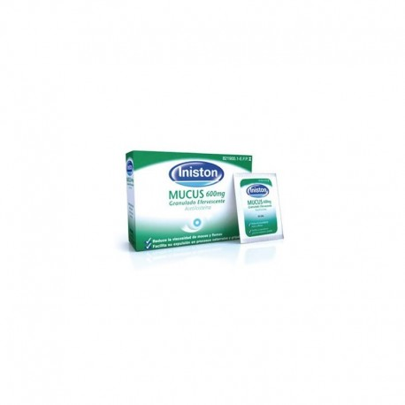INISTON MUCUS 600 MG 10 SOBRES EFERVESCENTES