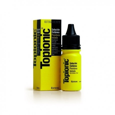TOPIONIC 100 MG/ML SOLUCION TOPICA 25 ML