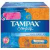 TAMPAX COMPAK TAMPON 100%ALGODON 24 UNIDADES SUPER PLUS