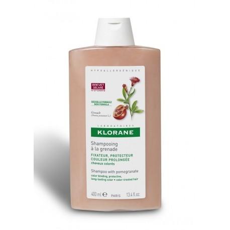 KLORANE CHAMPU A LA GRANADA 1 ENVASE 400 ml