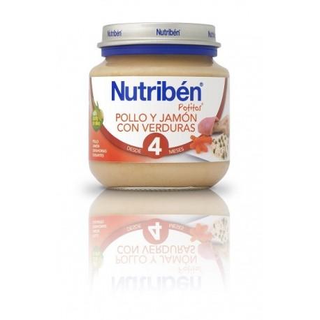 NUTRIBEN POLLO JAMON VERDURA 1 POTITO INICIO 130 g