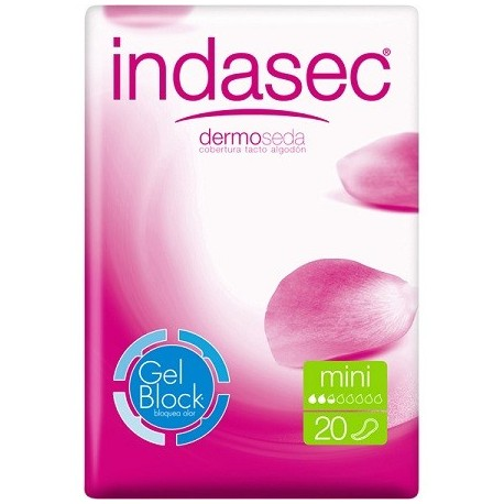 INDASEC MINI COMPRESA PERDIDAS LEVES 22 ABSORB