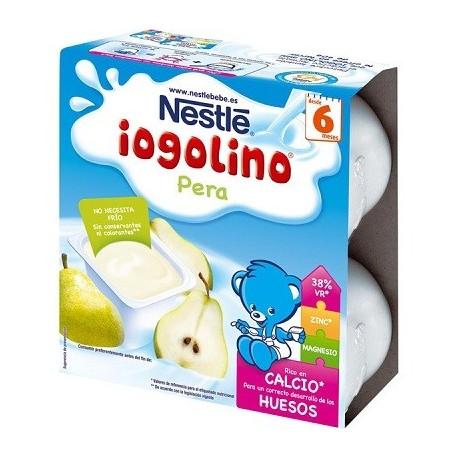 NESTLE YOGOLINO PERA 4 TARRINAS 100 g