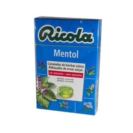RICOLA CARAMELOS S/A MENTOL 50 G.
