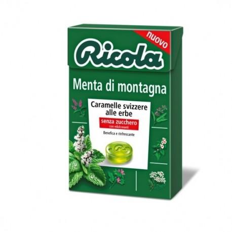RICOLA CARAMELOS SIN AZUCAR MENTA MONTAÑA 50 G