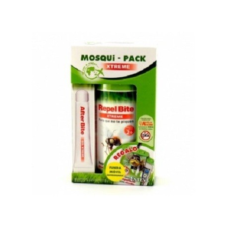 MOSQUI PACK AFTER BITE REPEL BITE XTREME BOLSA ESTANCA
