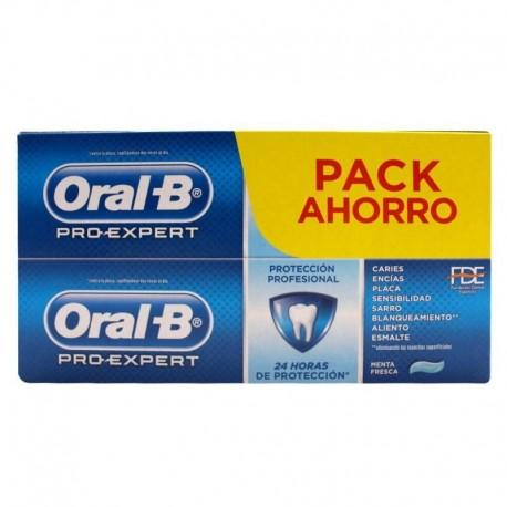 ORAL-B PRO EXPERT PROTECCION PROFESIONAL PASTA DENTIFRICA 2 ENVASES 75 ml + 25 ml