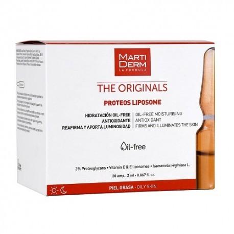 MARTIDERM PROTEOS LIPOSOME 30 AMPOLLAS 2 ml