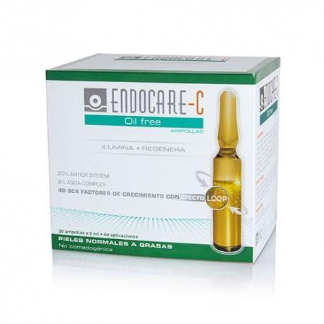 ENDOCARE C OILFREE 30 AMPOLLAS 2 ml