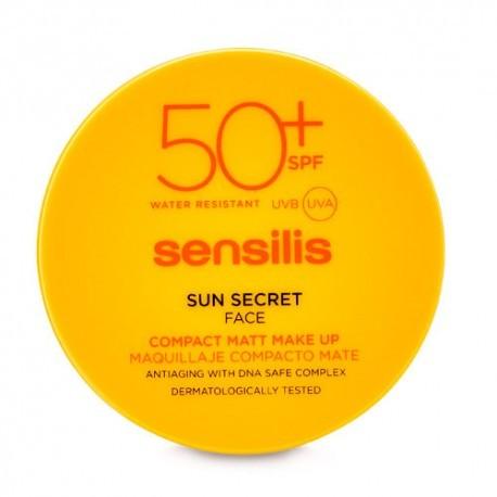 SENSILIS SUN SECRET NATURAL 01 COMPACTO