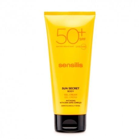 SENSILIS SUN SECRET PROTECTOR SOLAR SPF 50+ GEL CREMA CORPORAL 1 ENVASE 200 ml