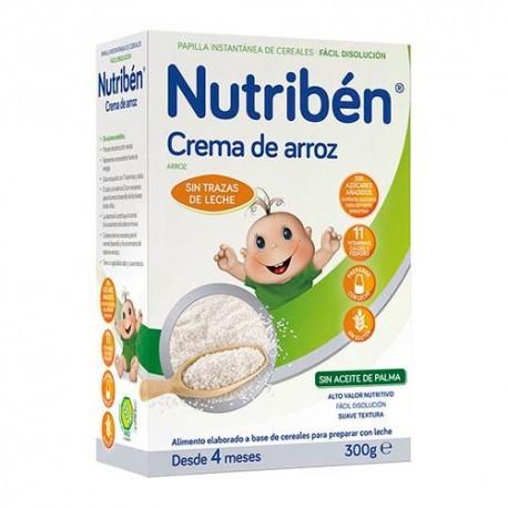 NUTRIBEN CREMA DE ARROZ 1 ENVASE 300 g