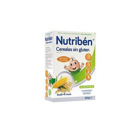 NUTRIBEN CEREALES SIN GLUTEN PAPILLA 1 ENVASE 600 g