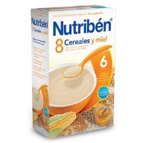 NUTRIBEN 8 CEREALES Y MIEL 1 ENVASE 600 g