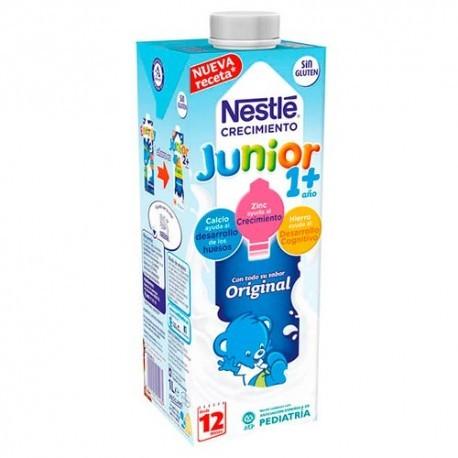 NESTLE JUNIOR CRECIMIENTO 1 + ORIGINAL 1 ENVASE 1000 ml