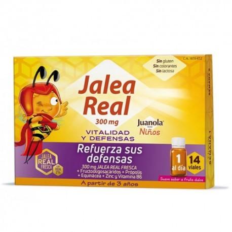 JUANOLA JALEA REAL NIÑOS VITALIDAD Y DEFENSAS 14 VIALES