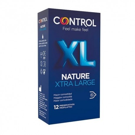 CONTROL XL PRESERVATIVOS 12 UNIDADES